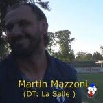 Martín Mazzoni, analizó la victoria de La Salle ante Unión