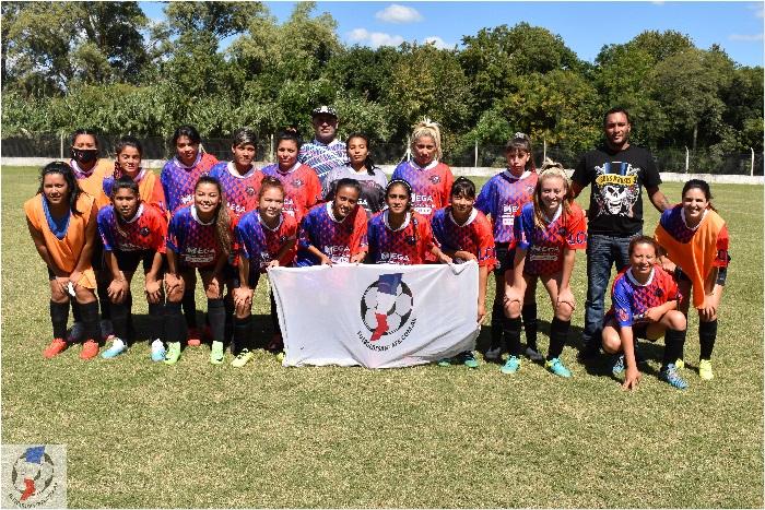 Los Cracks de Guadalupe 0 - Comuna de Sauce Viejo 0. 1ra División B Femenino
