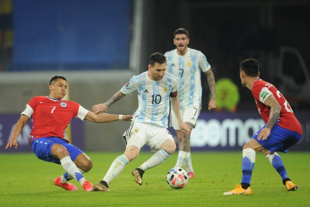 Argentina empató con Chile