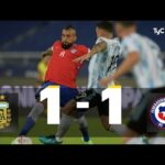 Argentina 1 - Chile 1. Compacto del partido