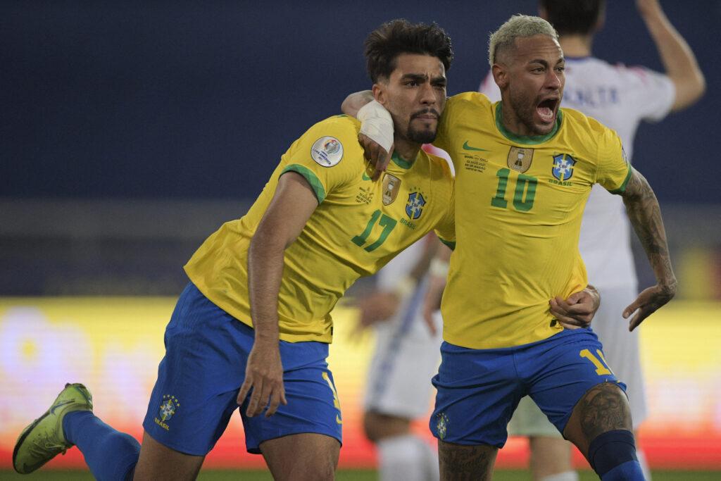 Brasil venció por la mínima a Chiles y es semifinalista